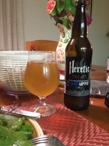 Heretic sour beer.