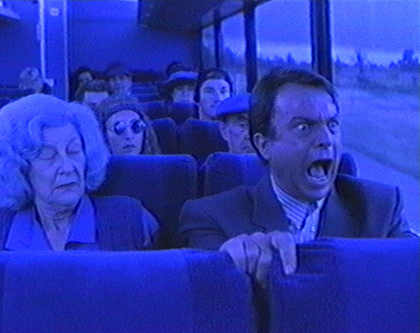 Sam Neill Freaking Out
